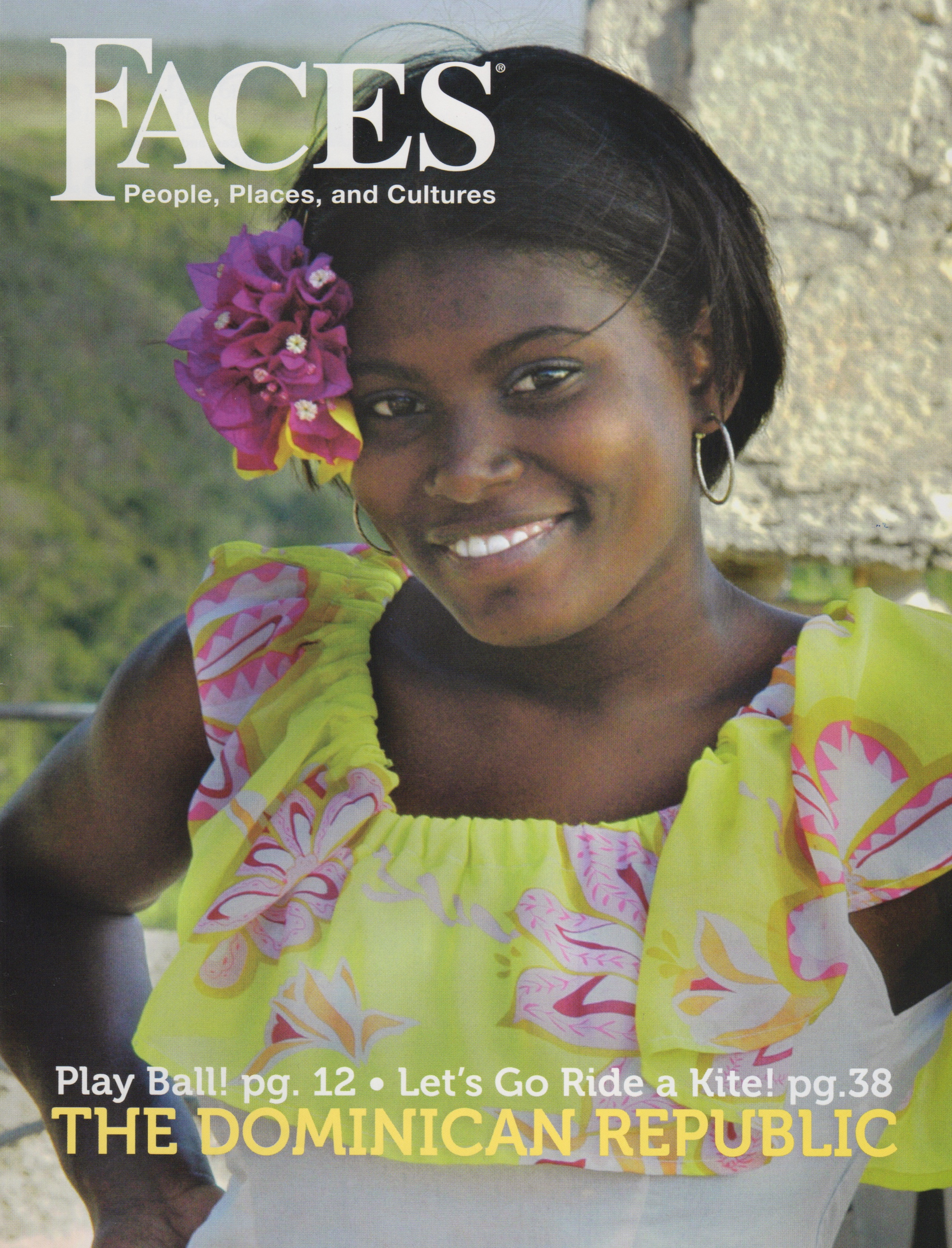 FACES Magazine Issue: The Dominican Republic – 3 Articles: Baseball Is A Way Of Life, Dominican Republic's Top Baseball Stars, Baseball Next Stars: Dominican Youth Academies