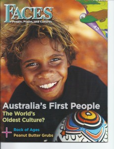 Faces Magazine Article, The Dreamtime Of Australia's Aboriginal People – Songlines Are The Footprints To Sacred Ancestor Spirits